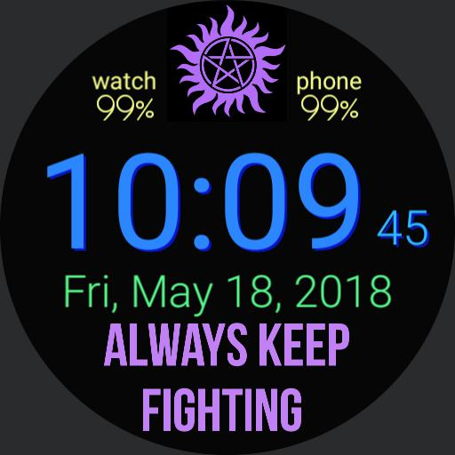 Supernatural always keep fighting