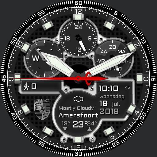 PD-Design Digital Chronometer red