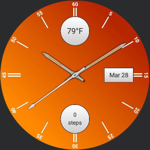 LG Watch Style Orange v1