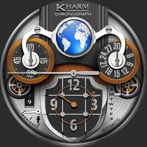 CHARMEGABRAN,  KHARM Chronograph II
