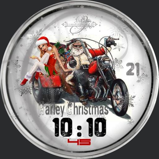 Harley Davidson Digi Christmas 3fach Dim nach Tageszeit