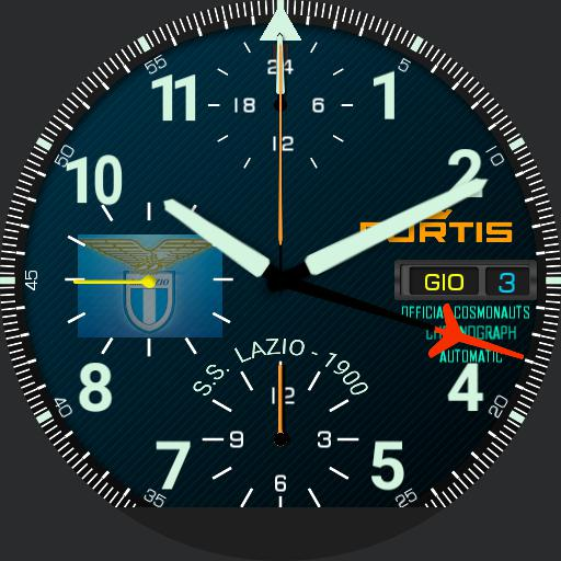 Fortis Cosmonauts GMT SS Lazio blue