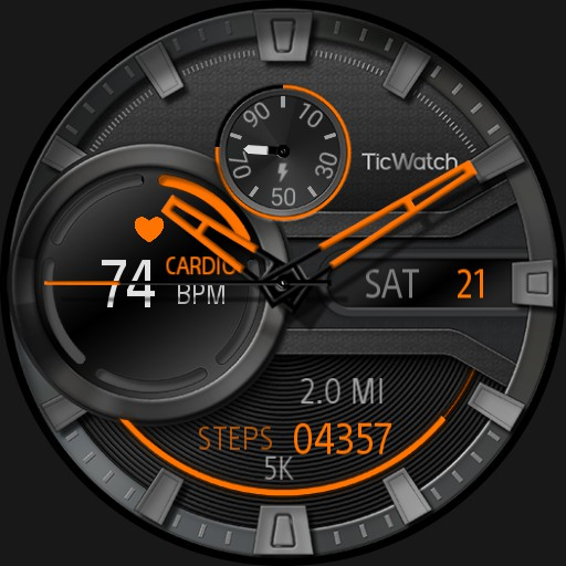 Ticwatch Heartbeat UC rc1