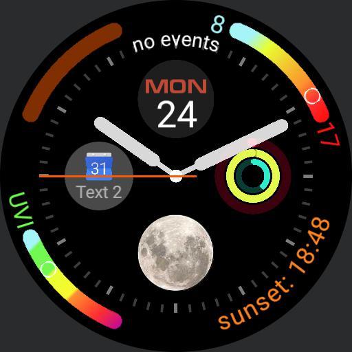 Apple Watch 4 copy circle