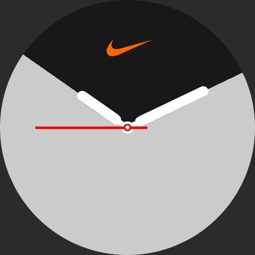 VA Apple Nike Watch Series 5 Zebra inverted with logo