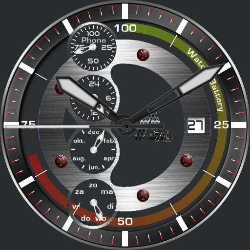 A-70 X Watch quatro metallic