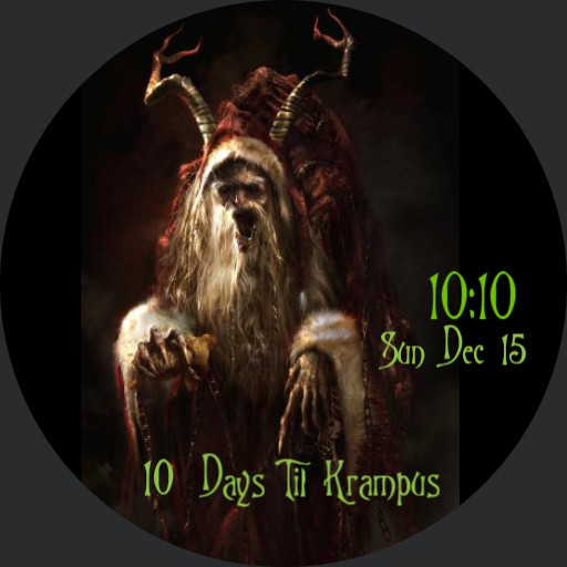 Krampus Countdown 2019