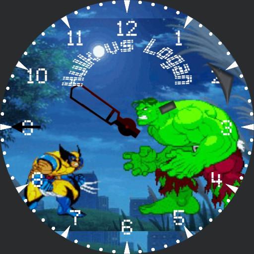 Hulk vs Logan