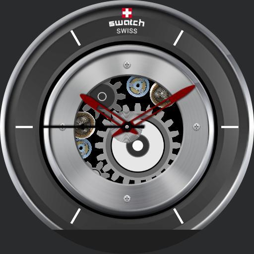 Swiss Gears Dark Red
