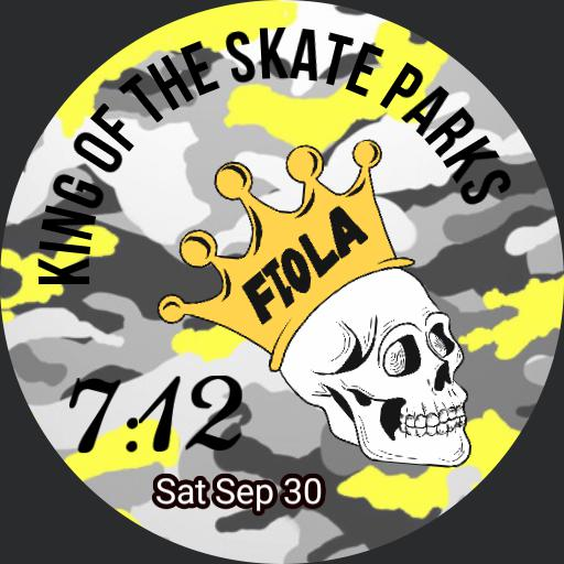 FILOA skull - King of the skate parks