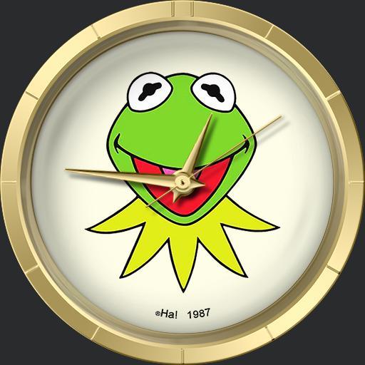 HA Kermit the Frog Watch Hensons Muppetts Tribute