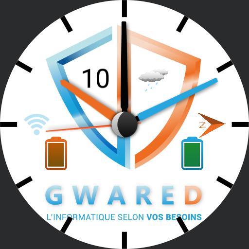 GWARED  WATCH Blanc