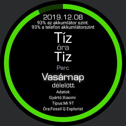 Hungarian Watch 1.0 Green extra
