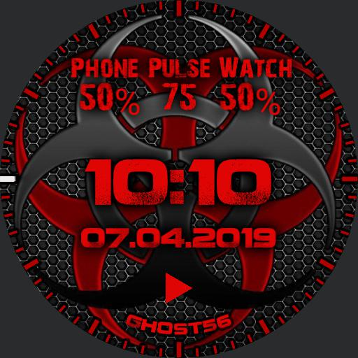 Biohazard Watch Face