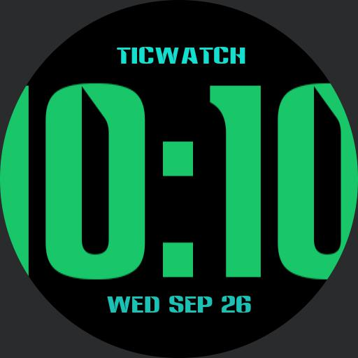 Ticwatch 2 green