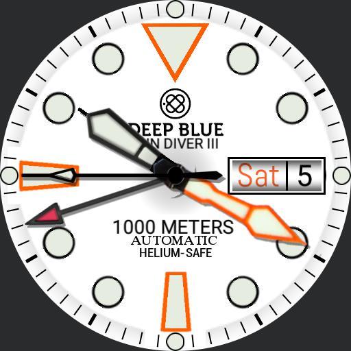 deep blue sun diver