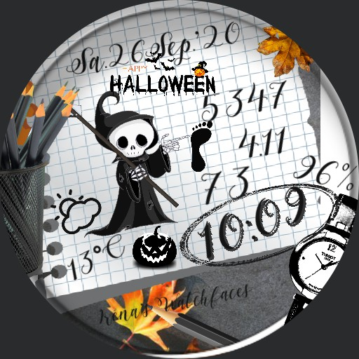 Halloween Notizen
