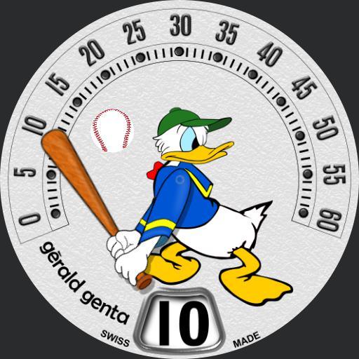 Gerald Genta - Donald Duck Baseball - BAMM