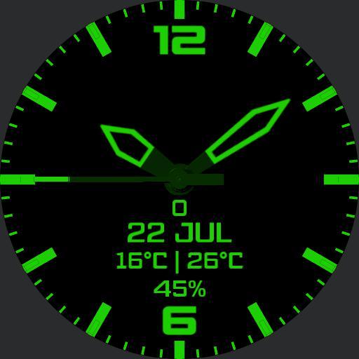 Rotating Data Green