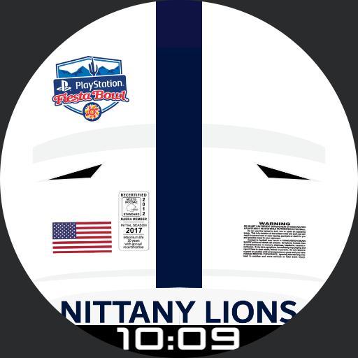 Penn State Helmet-Fiesta Bowl 2017 Digital