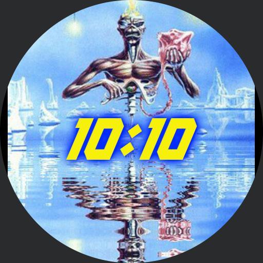 7th Son Iron Maiden Water Mirror