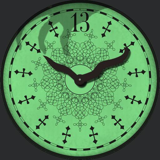 Haunted Mansion 13 Clock