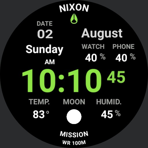 PVS Nixon Mission Full Digital Green