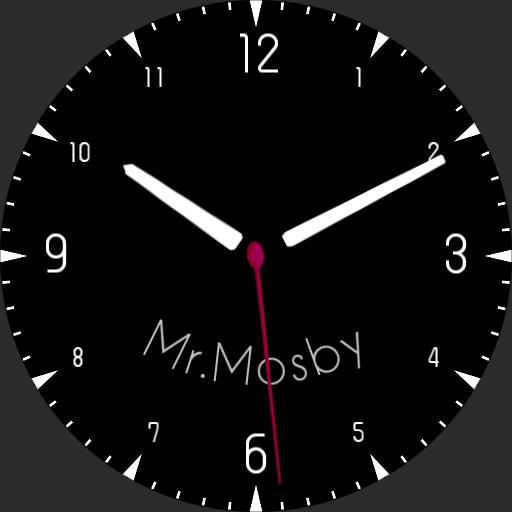 Mr.Mosby Simple Analog Clock