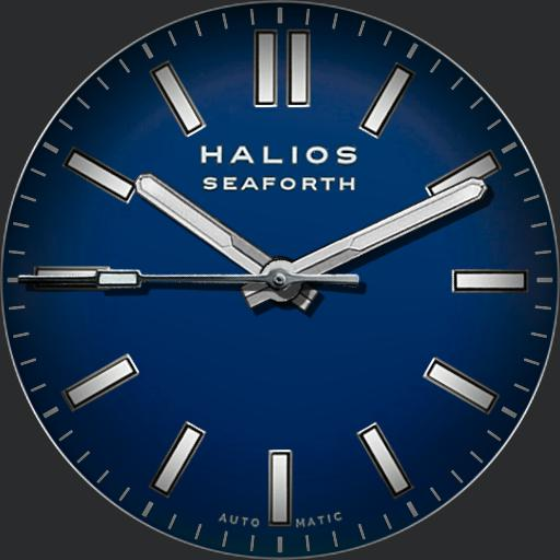 Halios Seaforth Automatic Blue Steel