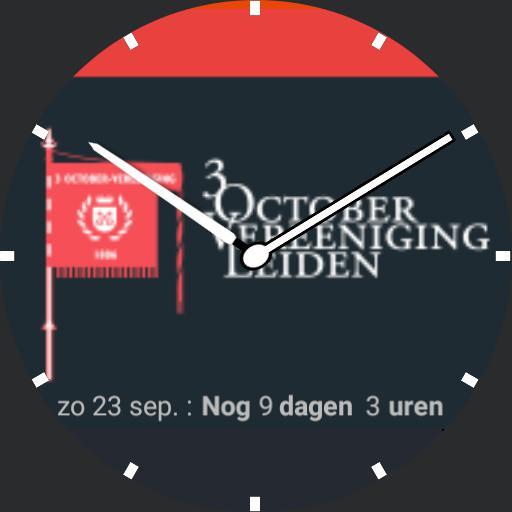 3 October Vereeniging - Leidens Ontzet