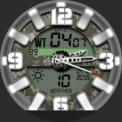 Military digital camo v2 BTR