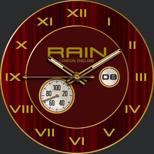 Rain, Red