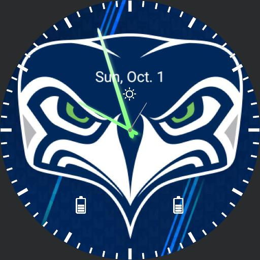Seahawks New Logo Updated Hands