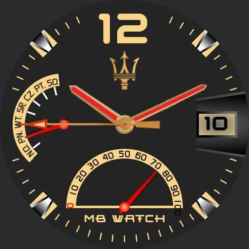 MB WATCH GOLD Copy