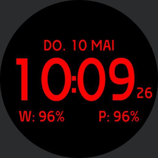 Digital mxml Red 24h