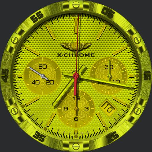 KK ED-DESIGN X-Chrome Chronograph  Copy