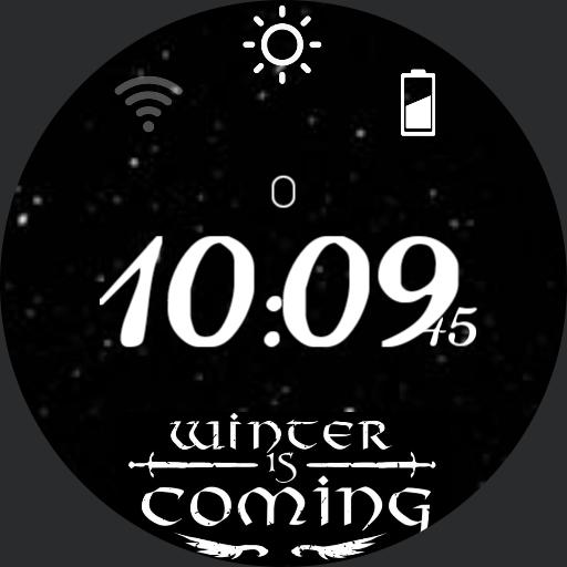 "_game of thrones ""winter is coming"" - animated dnow by gaugaugexi"
