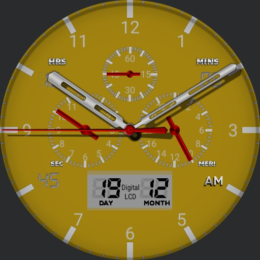 premium watch face v6
