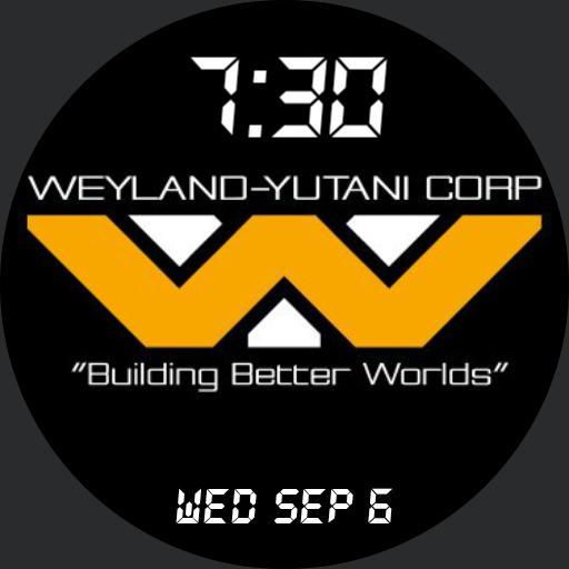 Weyland-Yutani time and date