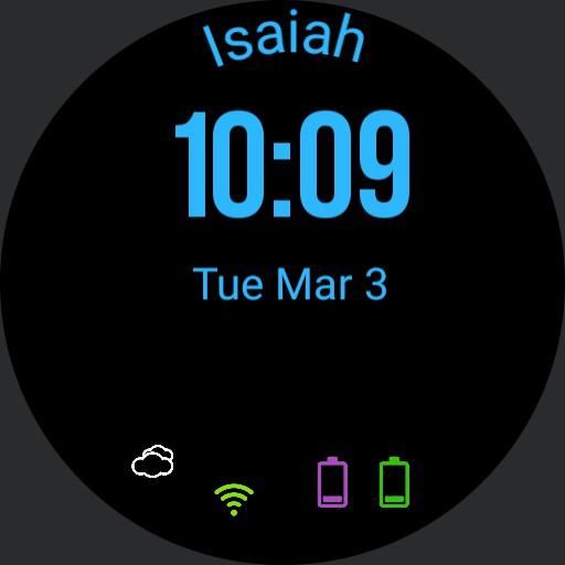 Isaiahs Watchface