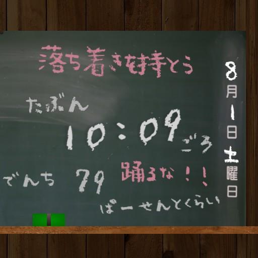 Japanese elementary school blackboard Copy