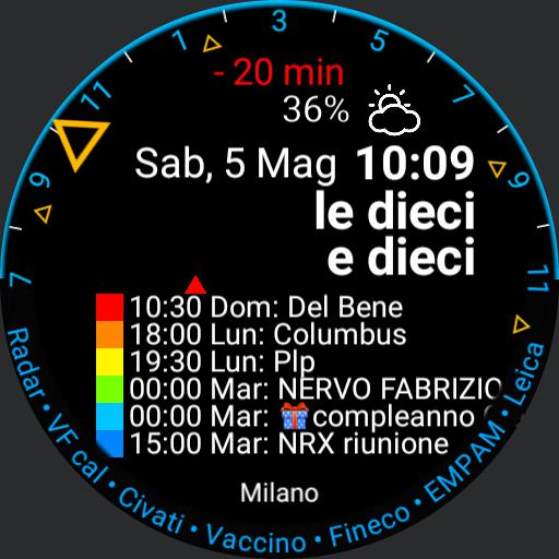 Calendar Watch Copy