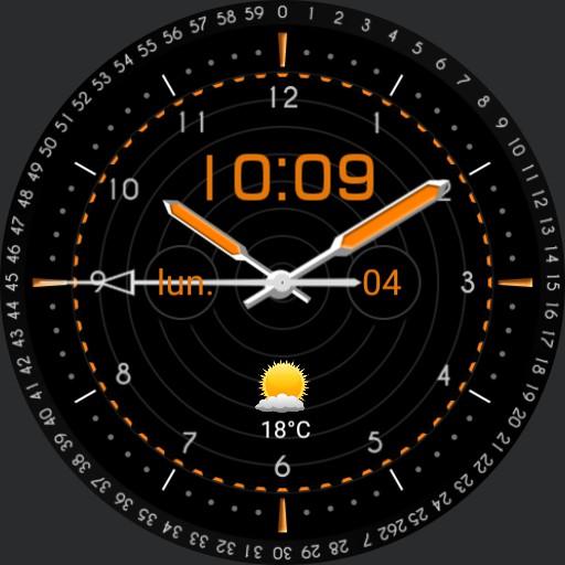orange numeric