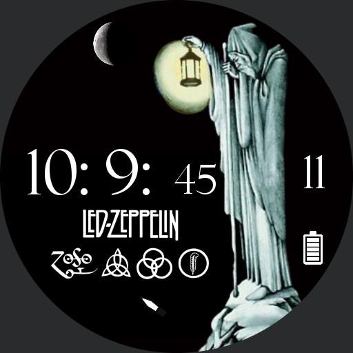 music legends Led Zeppelin