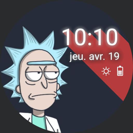 Rick and Morty - Simple watchface