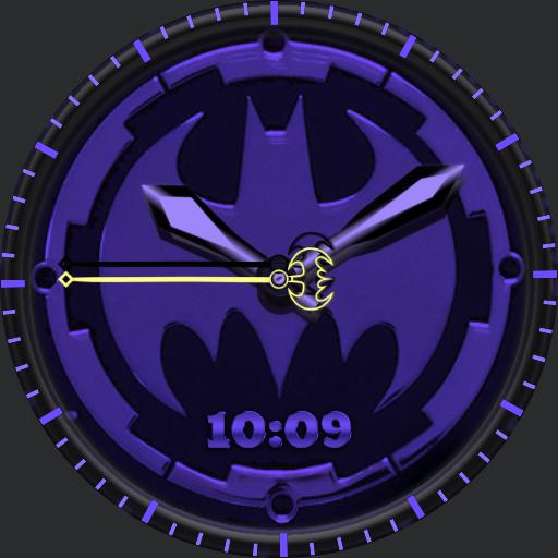 Batman Purple