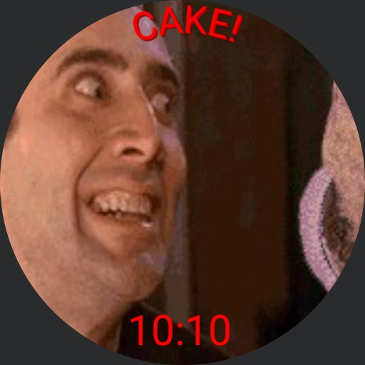 Nick Cage wants cake