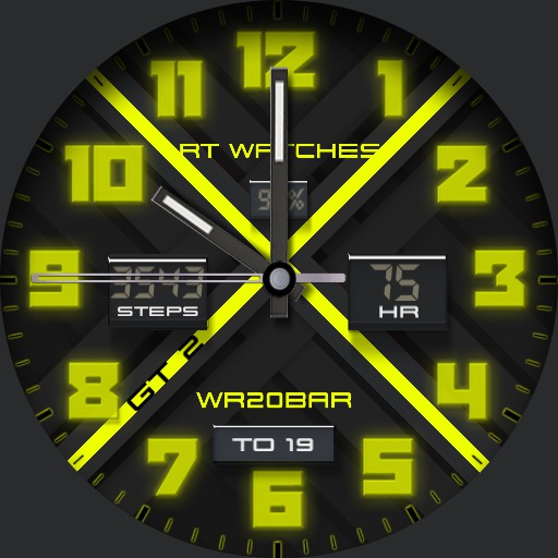 RT Watch GT 2 Yellow