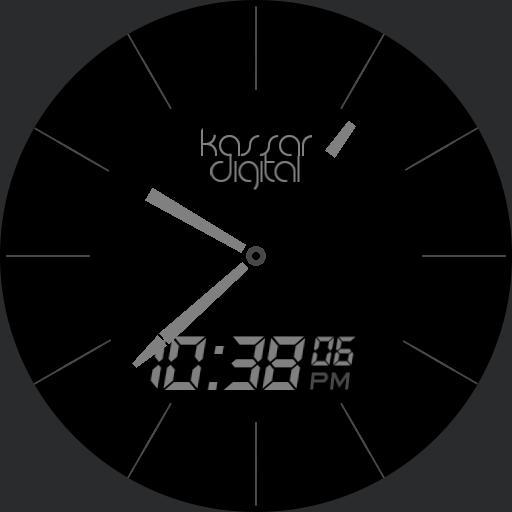 Dark LCD Ana-Digi