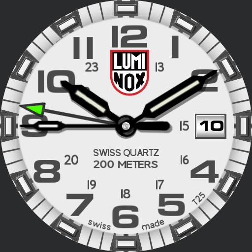 white luminox Copy
